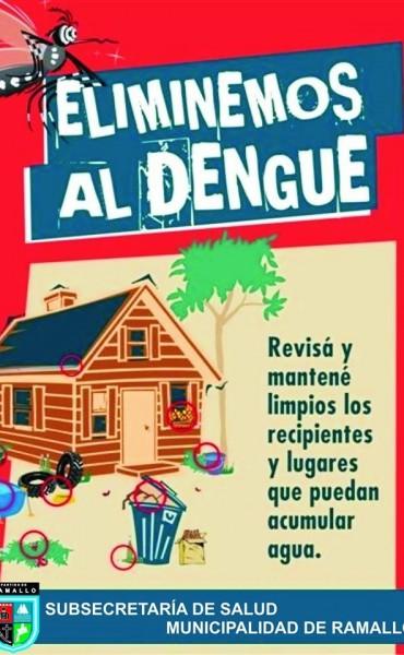 Pasos a seguir frente a casos sospechosos de Dengue