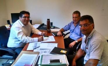 Perie y el concejal Borselli se reunieron con funcionarios de seguridad provincial