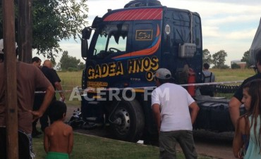 Fatal accidente en Villa Ramallo