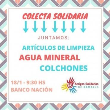 Colecta Amigos solidarios de Ramallo