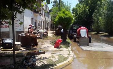 La Emilia: 24 hs más sin agua potable