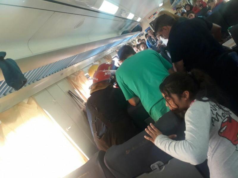 Rescate del tren y traslado al hospital Gomendio