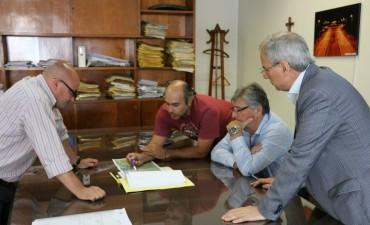 El Municipio de Ramallo realizó gestiones ante Vialidad Provincial