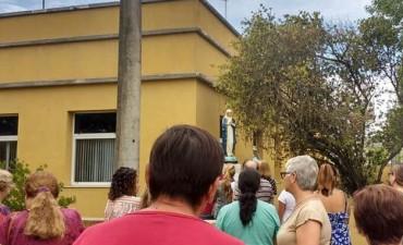 La Inmaculada Concepción de Maria fue nuevamente entronizada