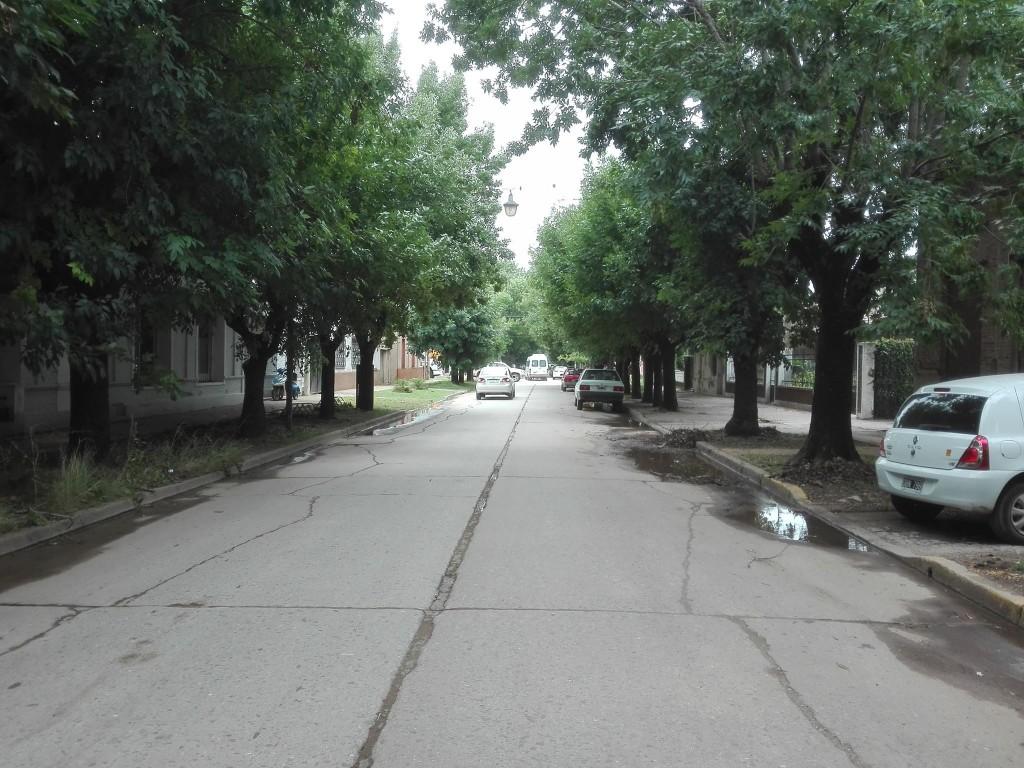 Batalla campal en calle Yrigoyen