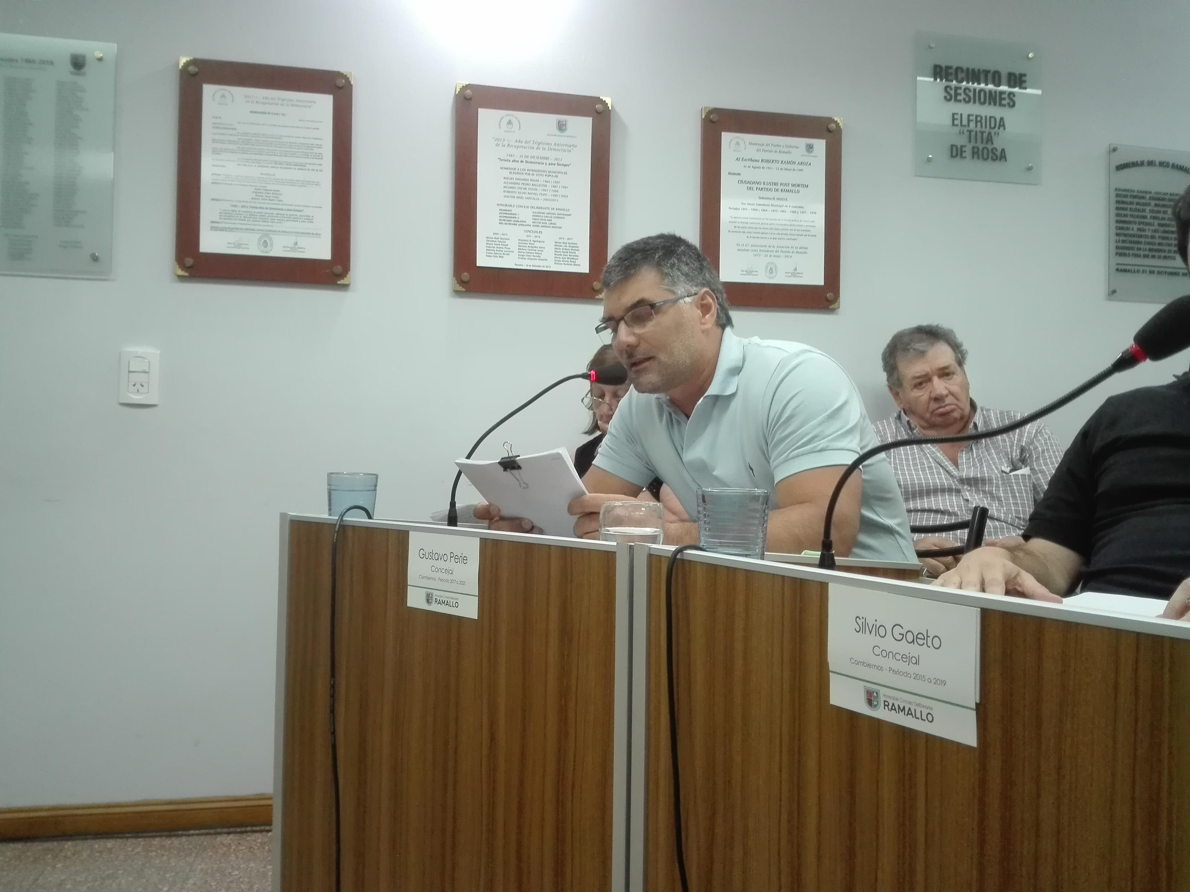 Cambiemos 'el propio bloque de concejales del intendente dejó sin quórum la asamblea de mayores contribuyentes e impidió el tratamiento de la ordenanza fiscal – Impositiva'