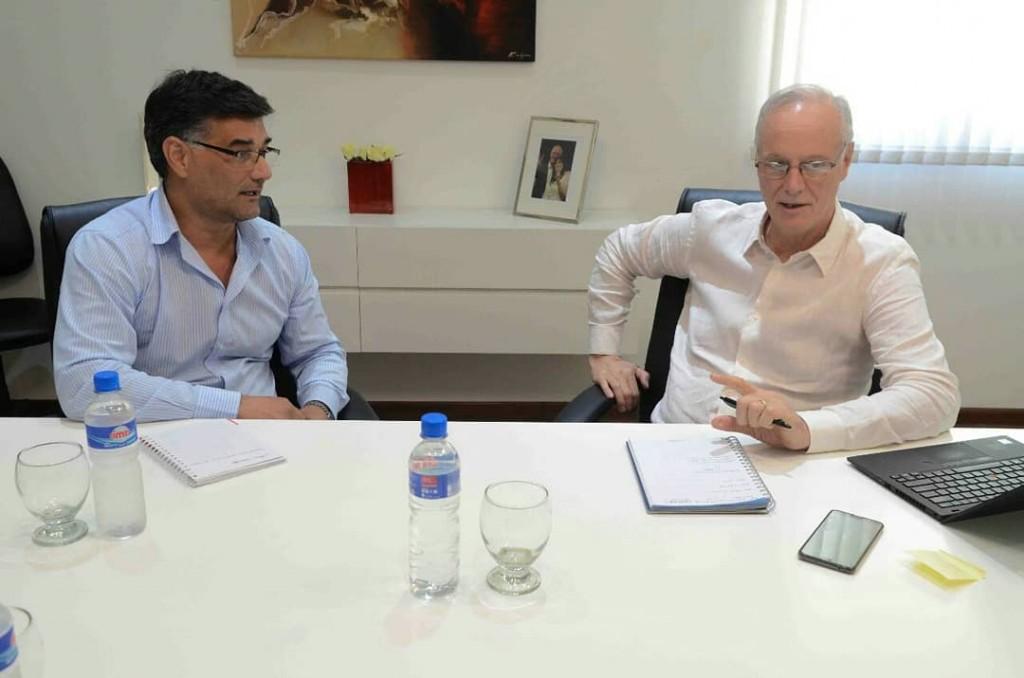 El Intendente Perie se reunió con el Ministro de Salud Dr. Gollan
