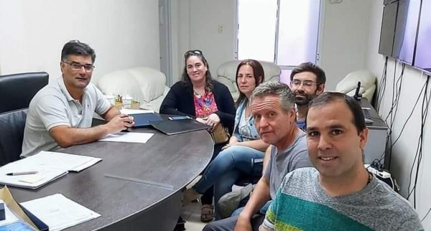 Integrantes de UPVA se reunieron con el Intendente Perie