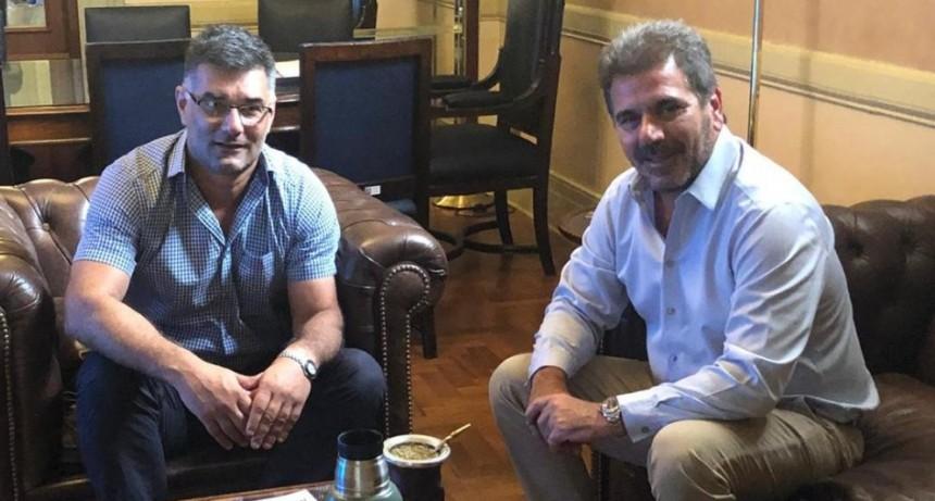 El Intendente Perie viajó a Buenos Aires se reunió con el diputado Ritondo y funcionarios del Ministerio del Interior