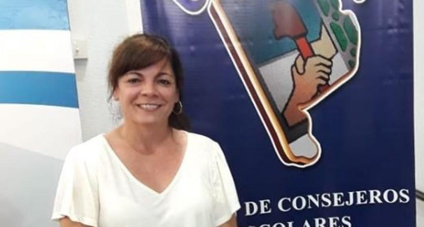 """Profesora Amalia Romero- Consejera Escolar :      """"La provincia va destinar más de 800 millones de pesos para refacción, mobiliario y reparaciones de las escuelas"""