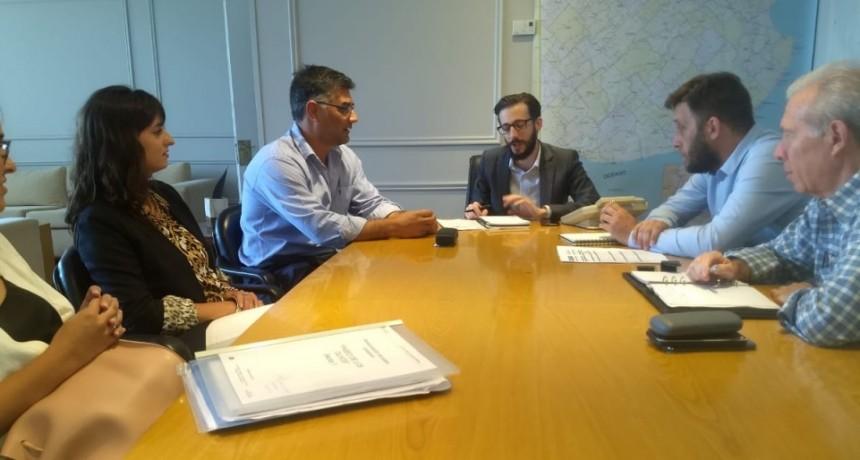 El Intendente se reunió con el Ministro de Infraestructura
