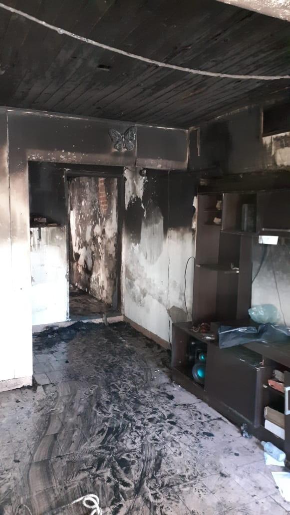 Se incendió una vivienda en la ciudad de Ramallo