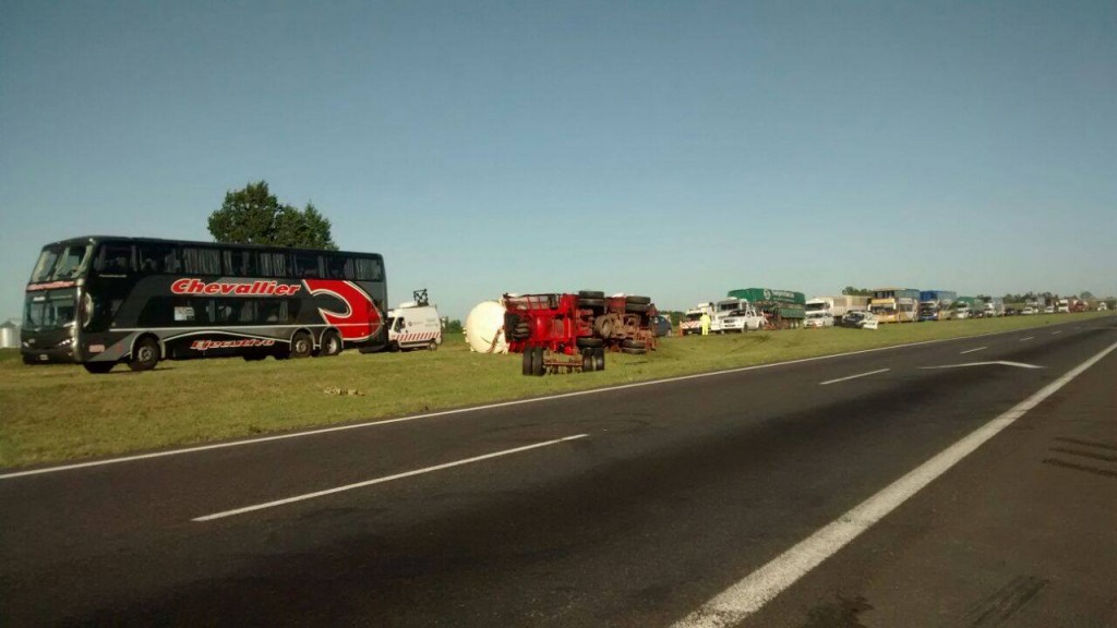 Accidente en ruta 9