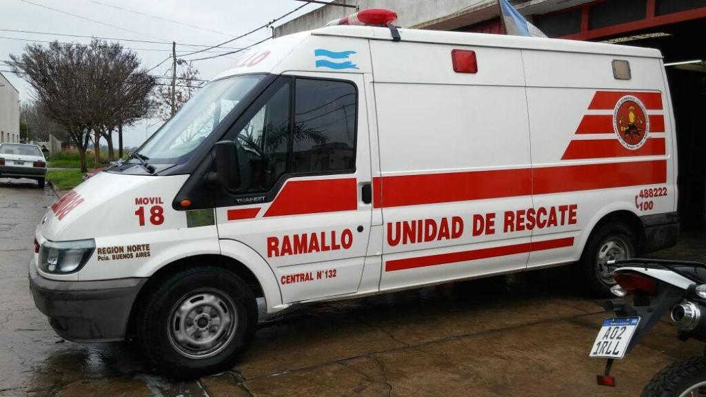 Un  martes por la mañana movido para bomberos voluntarios Ramallo