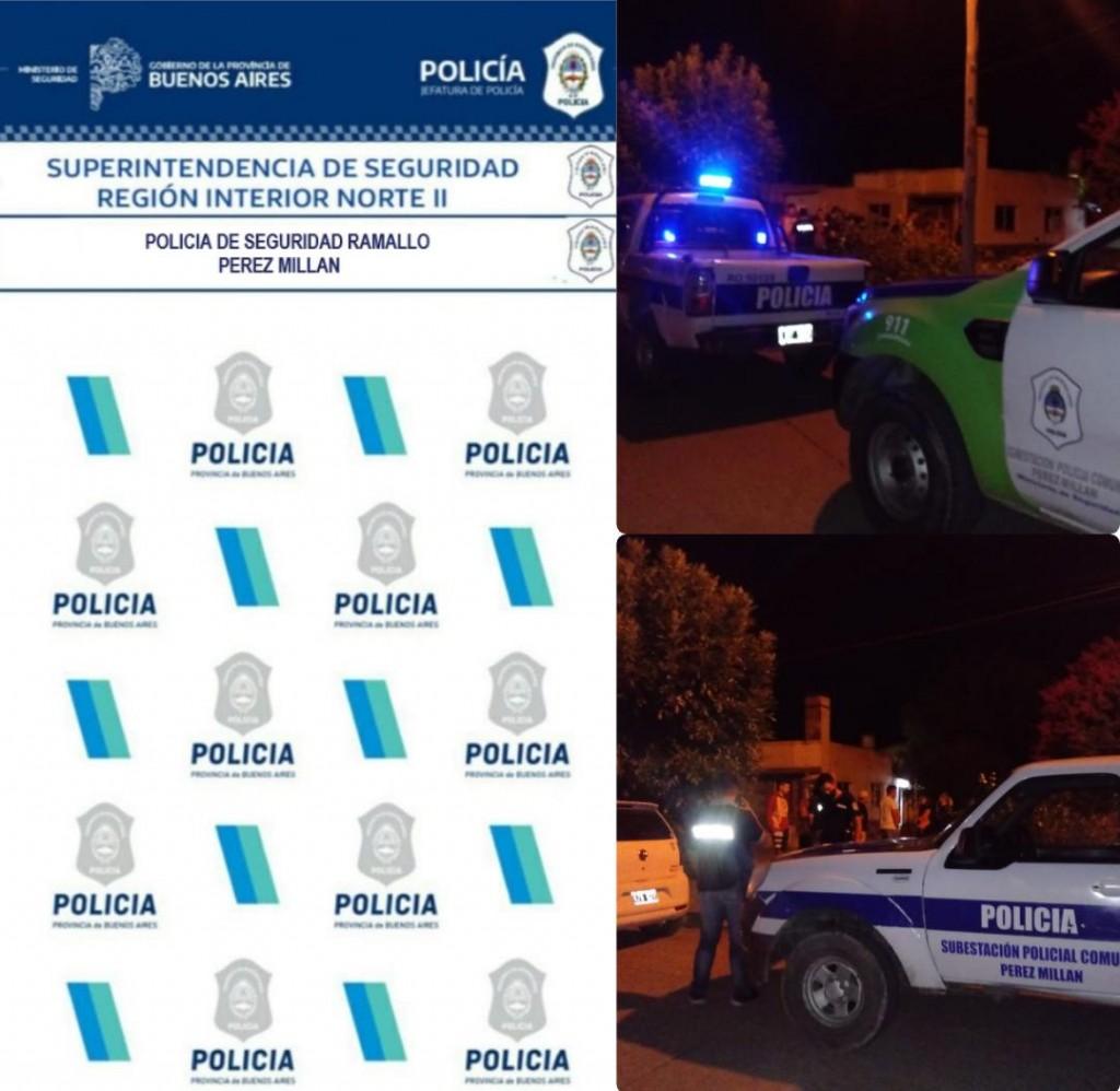 Pérez Millán: Detenidos en una fiesta de cumpleaños