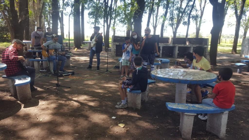 """La Banda de Ramallo continúa con las Clínicas en el Programa provincial """"Verano ATR"""""""