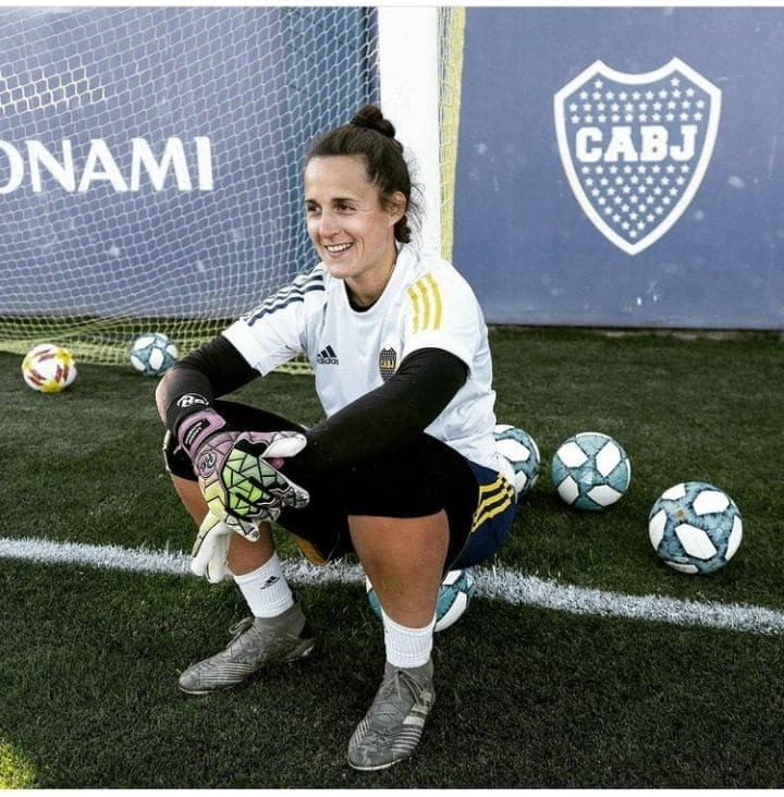 Laurina Oliveros campeona del fútbol argentino con Boca
