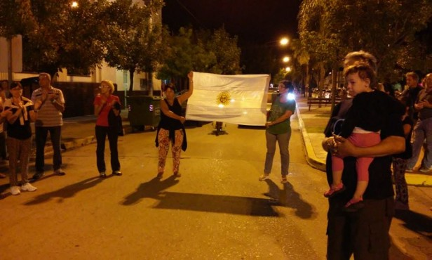 18 F en Villa Ramallo: Una convocatoria que no tuvo el eco esperado por quienes invitaban a participar...