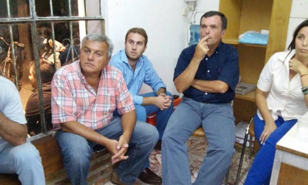 Unidos y Organizados recibió a dirigentes del Movimiento San Martín