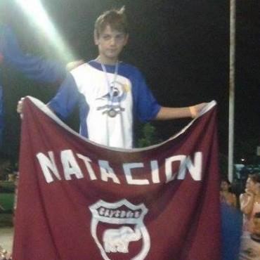 Lucio Ramírez Campeón Nacional y varios podios más para Ramallo en el República de Natación