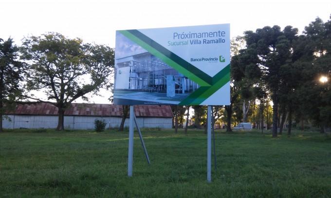 ¿Se construye o no el nuevo edificio del banco Provincia en Villa Ramallo?