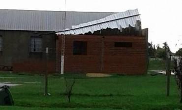 Fuerte temporal de lluvia y viento provocó severos daños en Ramallo