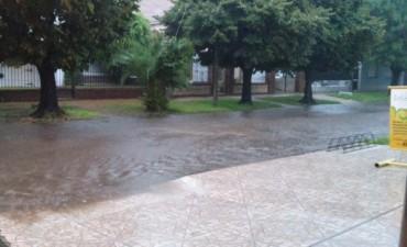 Un viernes marcado por las intensas lluvias