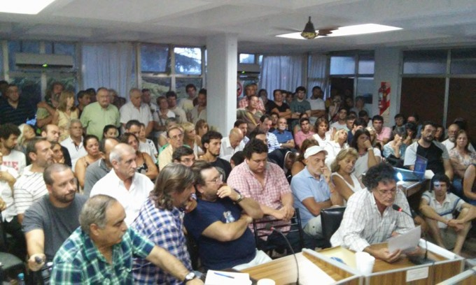 Multitudinaria participación
