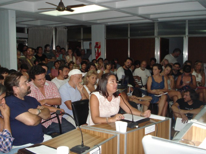 Audiencias Públicas: Doctora Sandra Mordini