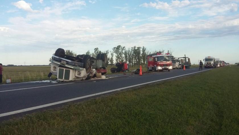 Accidente en ruta 9 km 189