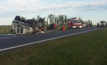 Accidente en ruta 9 km 189