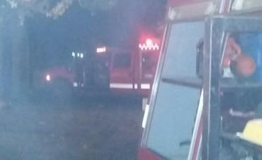 Se incendió una vivienda en el barrio Santa Teresa
