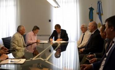 Reunión de los responsables de AFIP y ARBA