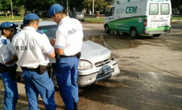 Accidente de tránsito en la ciudad de Ramallo