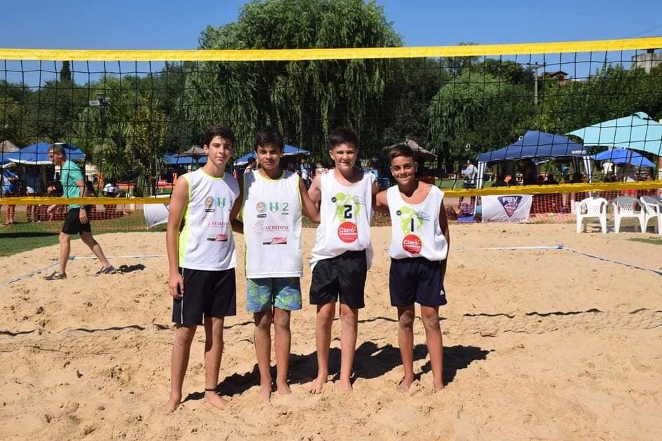 Lorenzo Bordi y Lucas Díaz clasificaron al Provincial de Beach Voley