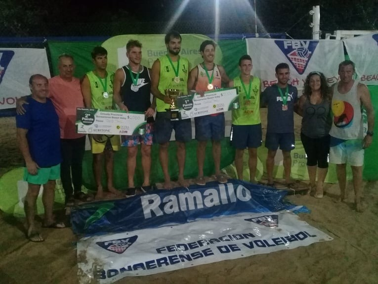 Exitoso torneo de Beach Vóley en Los Andes
