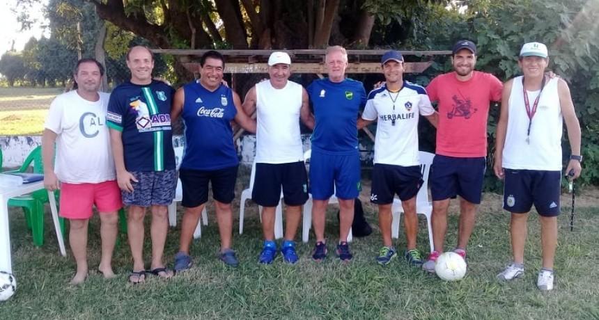 Defensa y Justicia realizó una prueba de jugadores en Los Andes