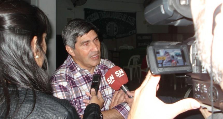 Lescano 'La medida de fuerza se realizará a lo largo y ancho de todo el país en los municipios, provincias y nación'