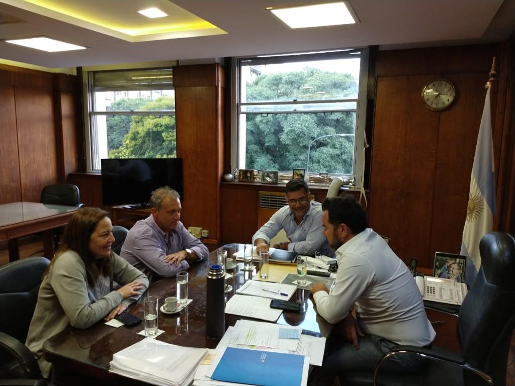 El Intendente Perie se reunió con el jefe de gabinete del Ministerio de Salud Lisandro Bonelli