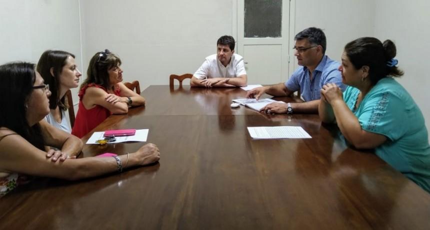 Trazaron una agenda de temas de trabajo en común entre el municipio y la ONG