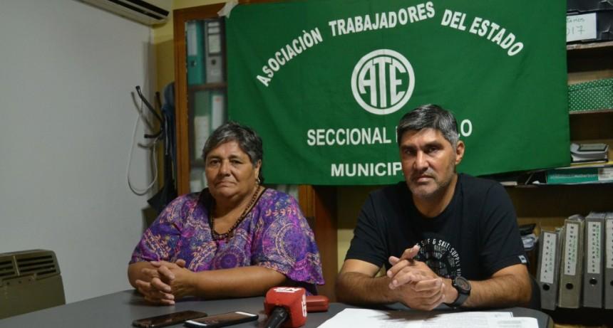"""Adrián Lescano  """"Personal en la calle es un límite para nosotros"""""""