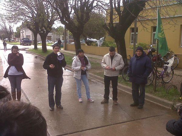 ATE Ramallo realizará una jornada de protesta en la Municipalidad