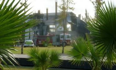 Explosión y muerte en Parque industrial Comirsa