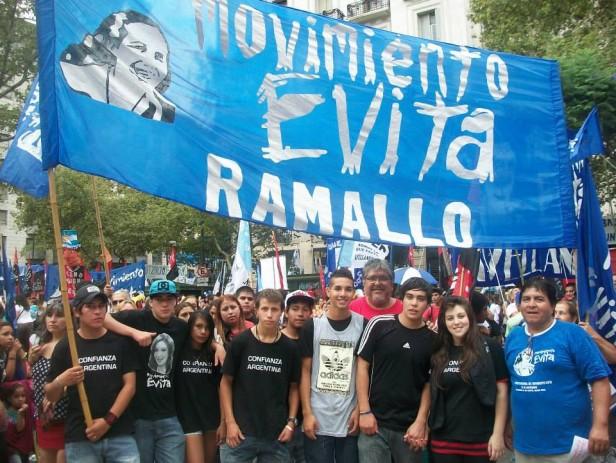 Dirigentes ramallenses acompañaron a CFK en la apertura de sesiones