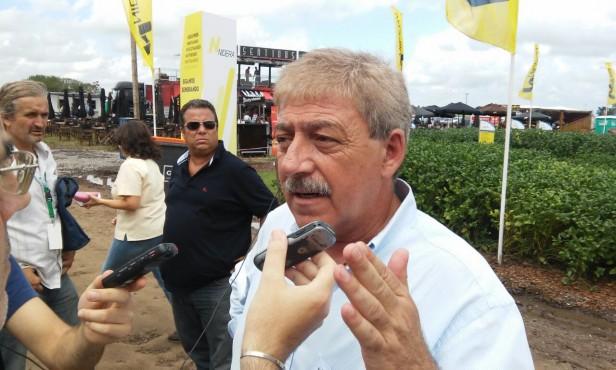 Expoagro: Llegó Eduardo Buzzi
