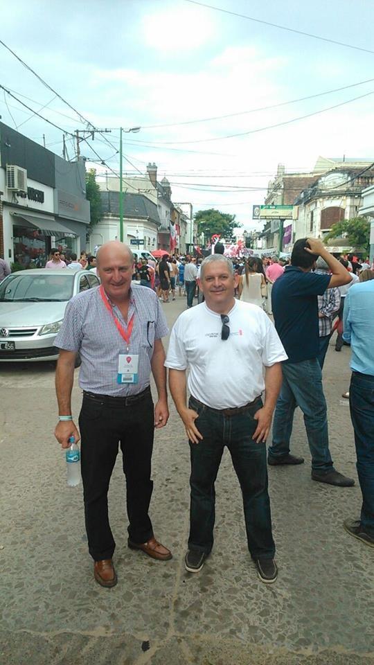 Santalla participó de la Convención de Gualeguaychú