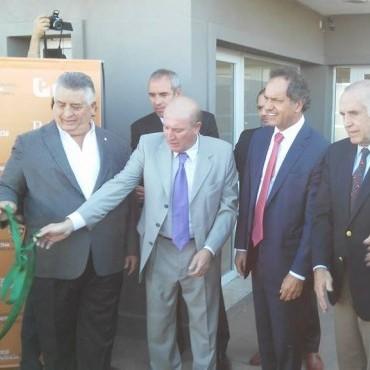 Scioli inauguró sede del Bapro en Parque Industrial Comirsa