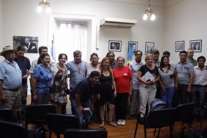 La diputada Rego se reunió con agrupaciones campesinas