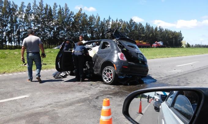 Accidente fatal en el kilómetro 173