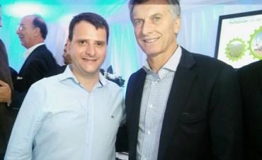 """Suárez Erdaire """"La visita del presidente Macri a Bunge fue muy importante"""""""